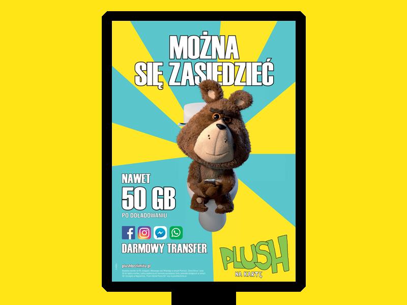 plush wc reklama
