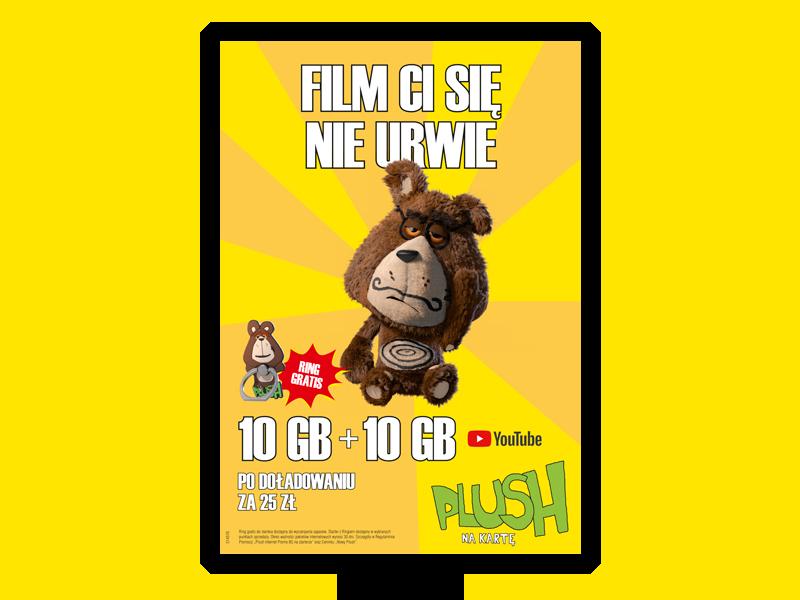 plush reklama świnka
